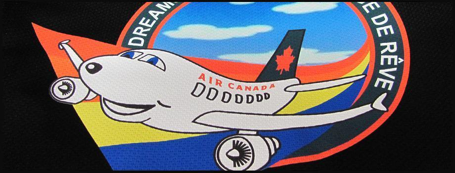 920 x 350 Banner Air Canada with black trim